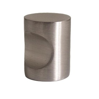 Design House 205112 Barrel 3/4 Inch Diameter Cylindrical Cabinet Knob