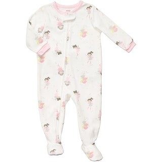 Carter's Little Girls' Fleece Footed Blanket Sleeper Pajamas - Fairy