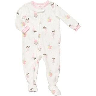 Carter's Little Girls' Fleece Footed Blanket Sleeper Pajamas - Fairy