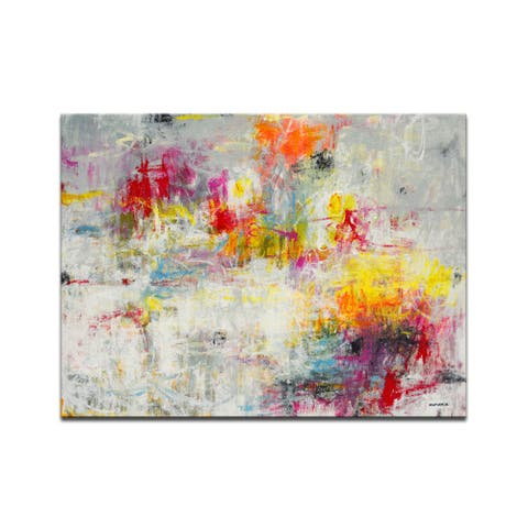 'Day in the Sun' 3 Piece Wrapped Canvas Wall Art Set by Norman Wyatt Jr.