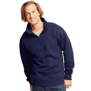 Hanes Men's Nano Premium Lightweight Quarter Zip Jacket