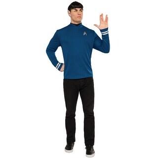 Rubies Spock Adult Costume - Blue - X-LARGE