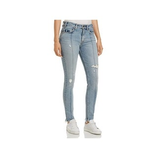 Levi's Womens Skinny Jeans Destroyed High Rise