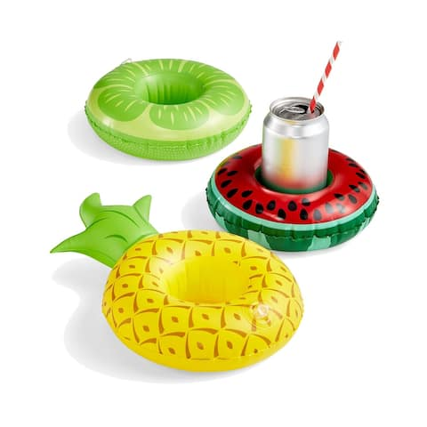 Big Mouth 3-Pack. Fruit Drink Floats Watermelon Pineapple Lime Fun