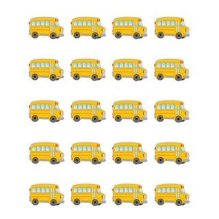 (12 Pk) School Bus Stickers