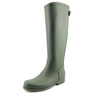 Jessica Simpson Mistyy Women Round Toe Synthetic Green Rain Boot