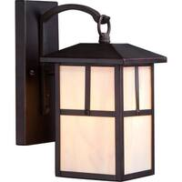 """Nuvo Lighting 60/5671 Tanner 6.25"""" Width 1 Light Outdoor Lantern Wall Sconce"""