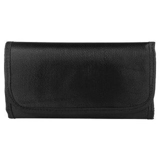 Unique Bargains 10 Pockets Six-fold Purse Wallet Pouch Bag Case Holder for Camera Filter Lens