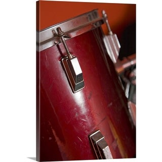 """Close-up of drum"" Canvas Wall Art"