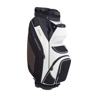 New Ping 2018 Pioneer Golf Cart Bag (White / Black / Copper) - white / black / copper