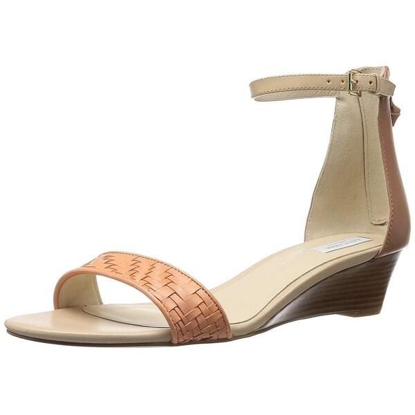 Cole Haan Women's Genevieve Weave WDG Wedge Sandal - 8.5