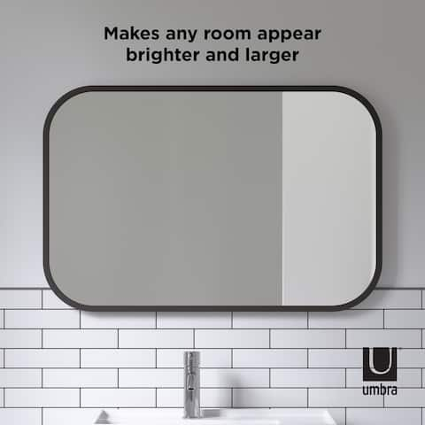 Umbra HUB RECTANGULAR Wall Mirror - 24x36