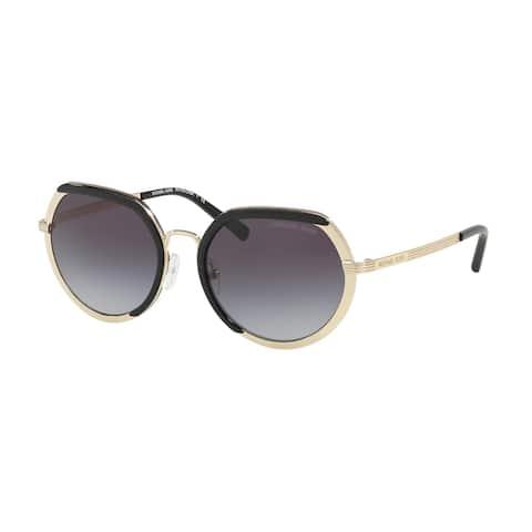 Michael Kors MK1034 33328G 53 Lite Gold Woman Irregular Sunglasses
