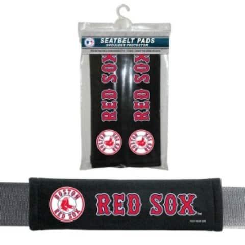 Boston Red Sox Seat Belt Pads Velour