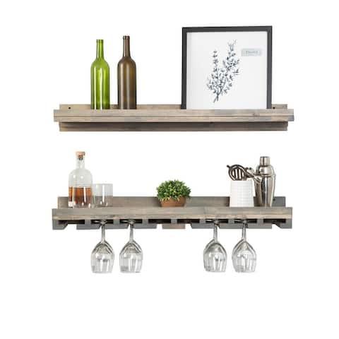 Del Hutson Designs Rustic Luxe Wine Set