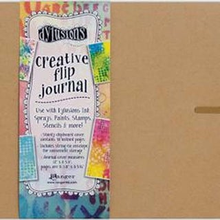 "Kraft 12""X8.5"" - Dyan Reaveley's Dylusions Creative Flip Journal"