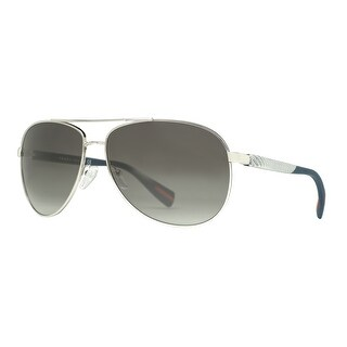 Prada Sport NETEX SPS 51O 1BC-3M1 Linea Rossa Silver Grey Aviator Sunglasses - Blue/Silver - 62mm-14mm-135mm|https://ak1.ostkcdn.com/images/products/is/images/direct/7ba74f46086c04916dbbe8219607f5f87f1751bd/PRADA-Aviator-SPS-51O-Men%27s-1BC-3M1-Blue-silver-Grey-Gradient-Sunglasses.jpg?_ostk_perf_=percv&impolicy=medium