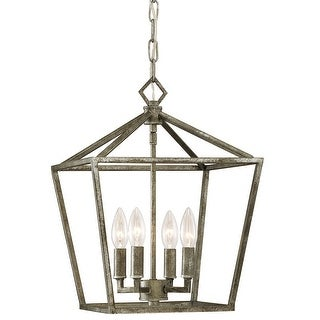 "Millennium Lighting 3234 4 Light 12"" Wide Taper Candle Pendant"