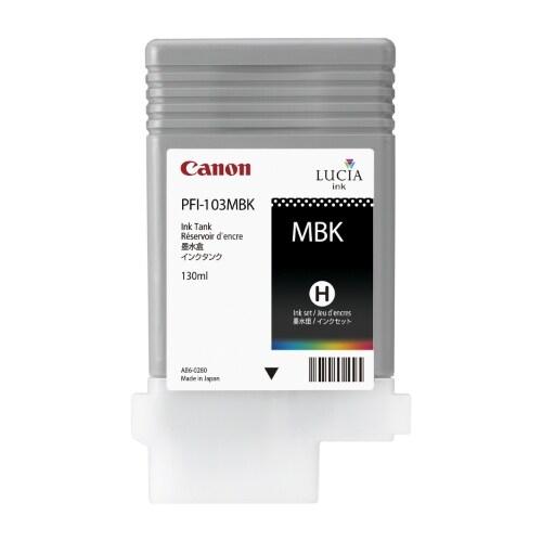 """Canon PFI-103MBK Ink Cartridge - Matte Black Ink Cartridge"""