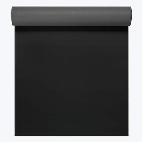 Gaiam 05-61493 gaiam athletic 2 grip mat 5mm black/gray