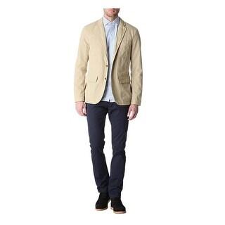 Polo Ralph Lauren Men Langely Sportcoat 44 Regular 44R Unstructured Khaki Jacket