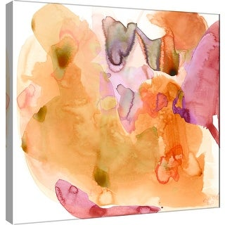 "PTM Images 9-100929  PTM Canvas Collection 12"" x 12"" - ""Amorphous G"" Giclee Abstract Art Print on Canvas"