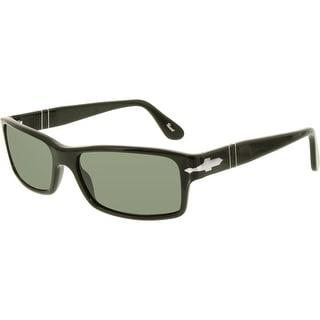 fd25a7c23f Persol Men s Polarized PO3048S-900058-55 Black Square Sunglasses ...