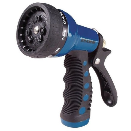 Dramm 1012705 Revolver 9 Pattern Spray Gun, Blue