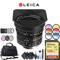 Leica 18mm f/3.8 Lens (11649) Complete Accessory Kit (Mac)