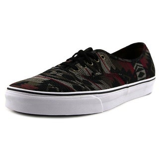Vans Authentic Men  Round Toe Canvas Multi Color Skate Shoe