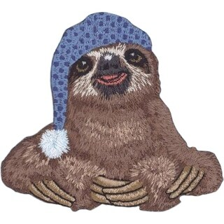 """C&D Visionary Patch-Sloth 3.25""""X3.5"""""""