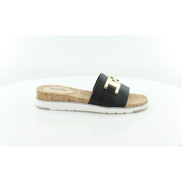 20cb5e171d0 Shop Michael Kors Warren Slide Flat Sandal Women s Sandals   Flip ...