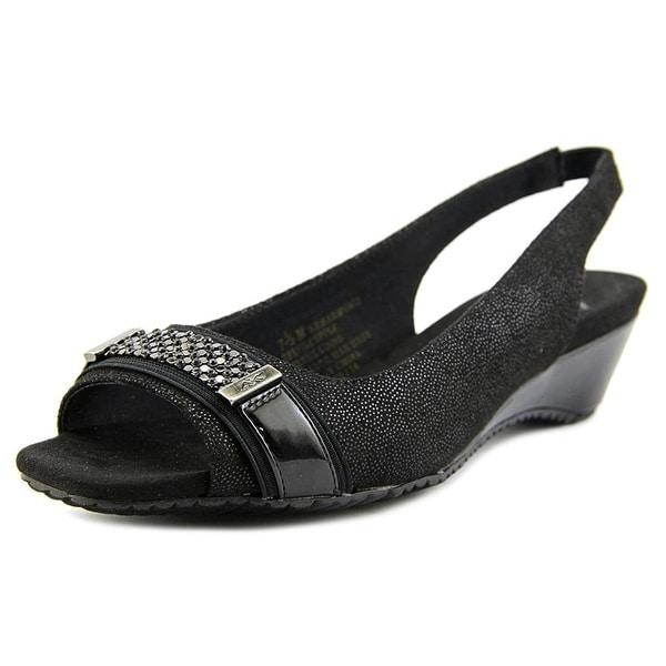 Anne Klein Womens Harmonia Open Toe Casual Slingback Sandals