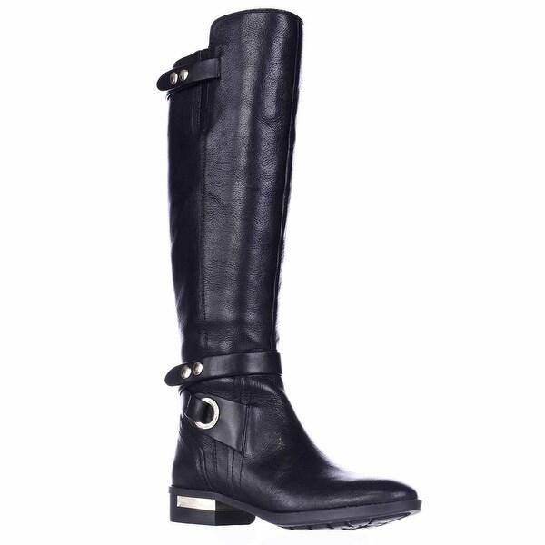 Vince Camuto Prini Black Easy Rider Boots, Black