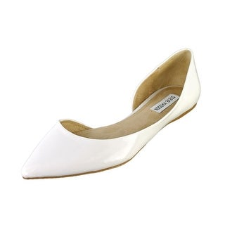 Steve Madden Elusion Pointed Toe Synthetic Flats