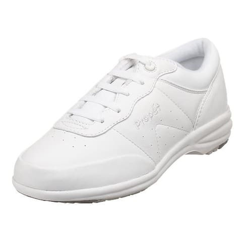 Propet Womens Washable Walker Walking Shoes Leather Lace Up