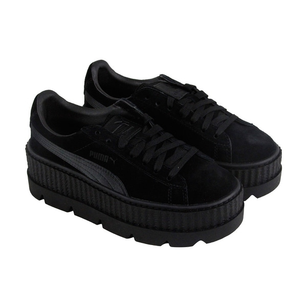 aa60222a33d Puma Womens Fenty by Rihanna Black Cleated Creeper 36626804 Sneakers Shoes