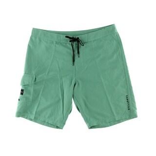Billabong Mens Lace Up Quick Drying Board Shorts - 33