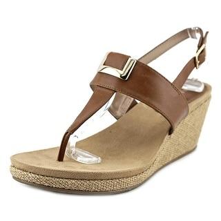 Style & Co Maryana Open Toe Synthetic Wedge Sandal