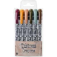 Tim Holtz Distress Crayon Set-Set #10
