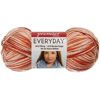 Deborah Norville Collection Everyday Print Yarn-Clay