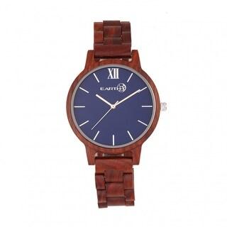 Earth Wood Pike Unisex Quartz Watch, Wood Band