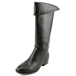 Chinese Laundry First Love Round Toe Leather Knee High Boot