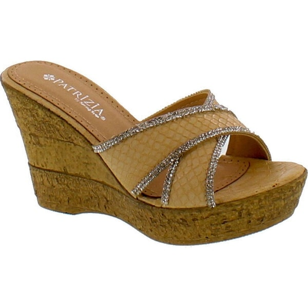 Patrizia By Spring Step Etoc Womens Cork Design Fashion Wedge Sandals