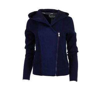 Lauren Active Womens Jacket Hooded Long SLeeves - m