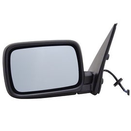 Pilot Automotive BM320941E BMW 318I Black Power Heated Replacement Side Mirror