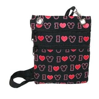 Disney I Love Mickey Passport Crossbody Bag