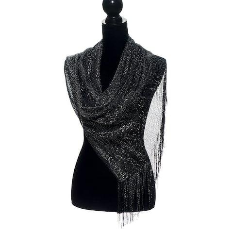 d3ab9c404c Buy Black Scarves Online at Overstock | Our Best Scarves & Wraps Deals