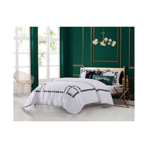 Juicy Couture LatticeThree Piece Comforter set