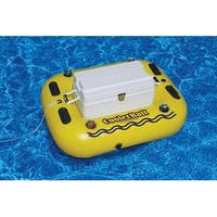 Swimming Pool Cooler Raft Heavy Duty Tube Float for Ages 13 and up - Black